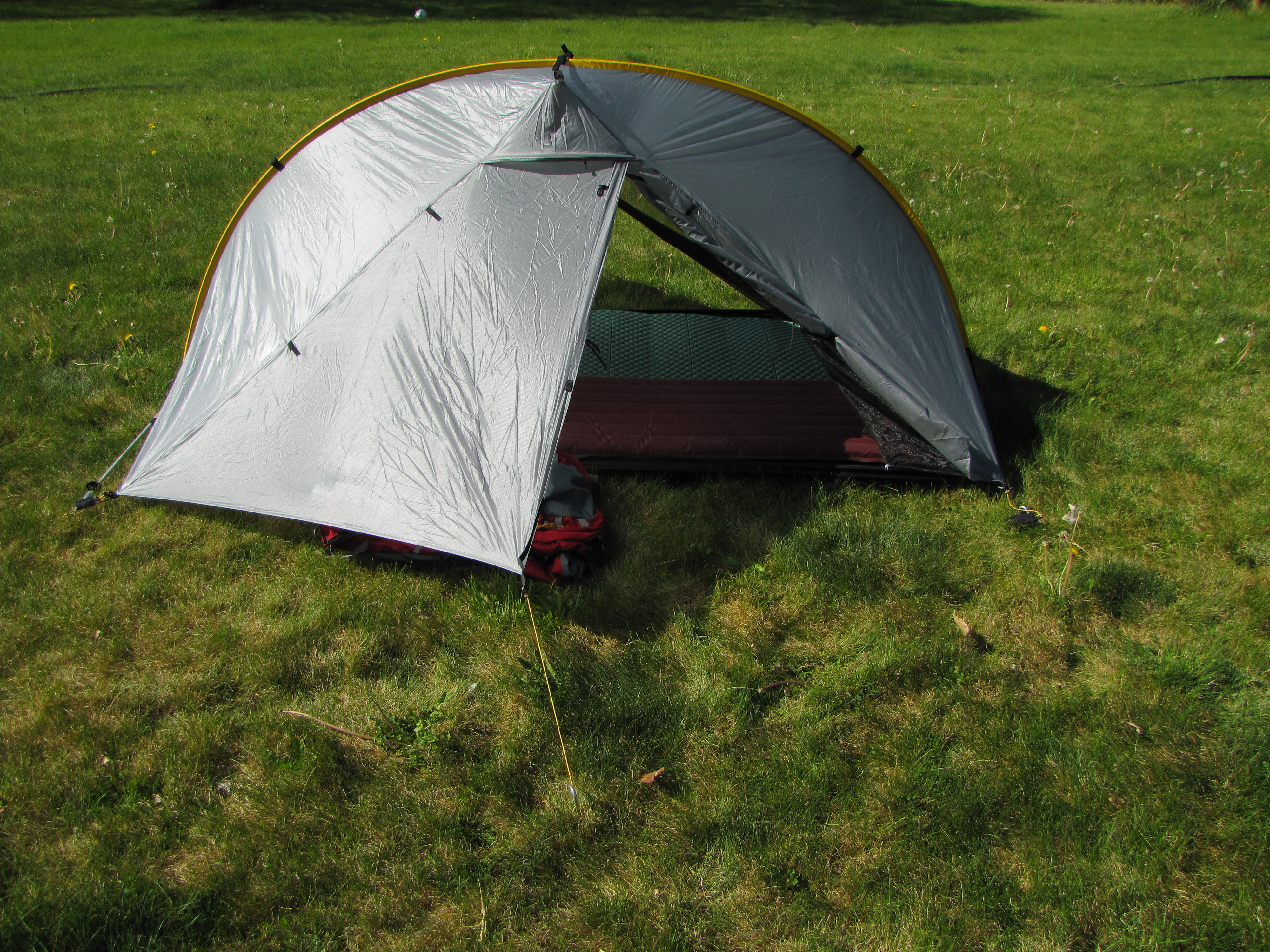 With ... & Gear Review: the Tarptent Double Rainbow | No I Will Not Carry ...